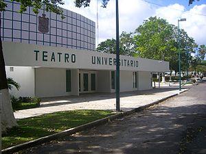 Universidad Juárez Autónoma de Tabasco - University Theater where conventions and other assemblies take place