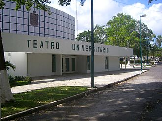 Universidad Juárez Autónoma de Tabasco - University Theater where conventions and other assemblies take place