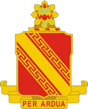 44th Air Defense Artillery Regiment - Image: 44ADARegt DUI