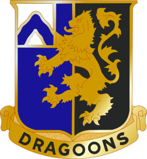 48th Infantry Regiment (United States) - Image: 48 Inf Rgt DUI