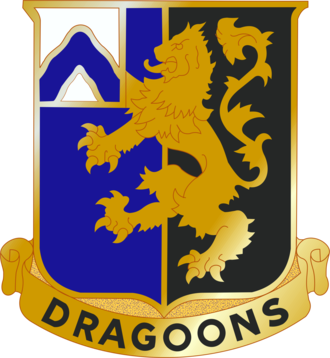 3rd Chemical Brigade (United States) - Image: 48 Inf Rgt DUI