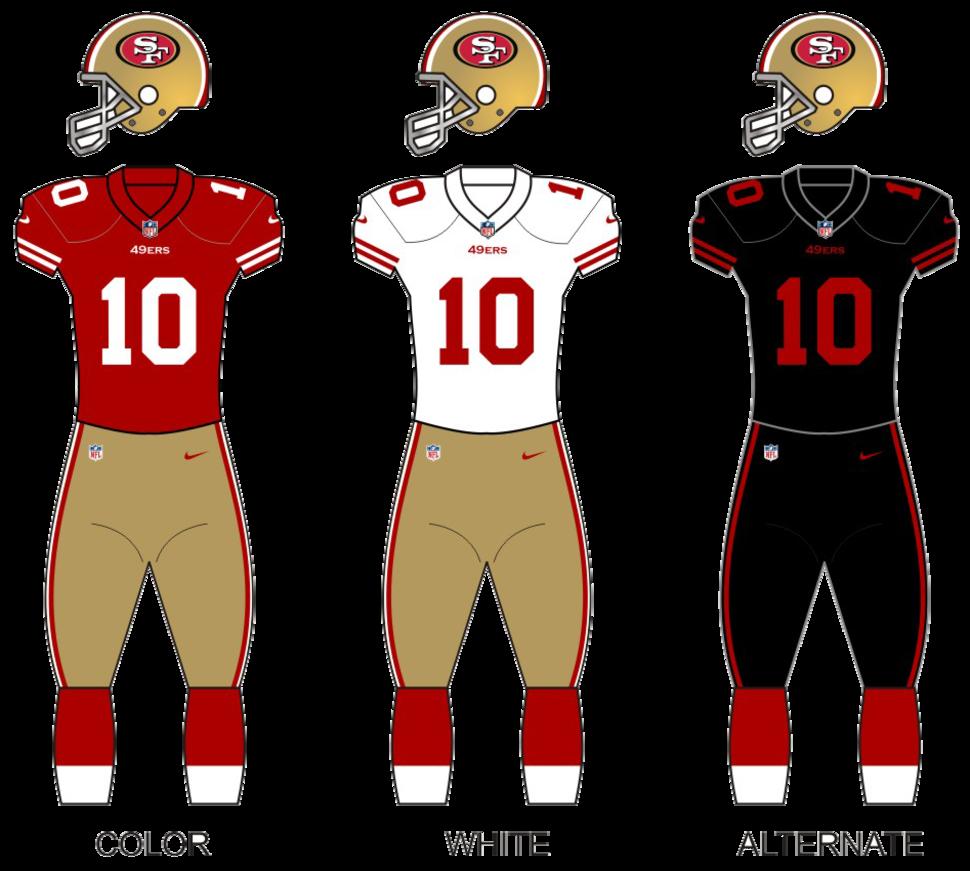 49ers uniforms 15