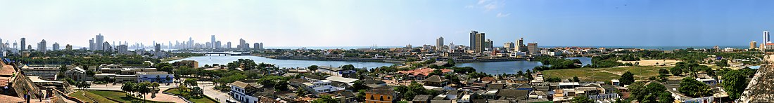 Panorama de Cartagena.