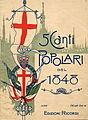 5 Canti Popolari, Ricordi 1898.jpg