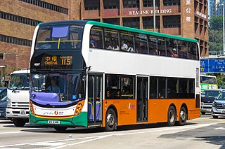 New World First Bus bus operator in Hong Kong
