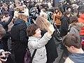 6 Marche républicaine 11 janvier 2015 Paris - Le crayon comme pancarte AB P1340202.jpg