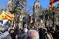 6 febrer 2017 Concentració davant del Tribunal Superior de Justícia en suport als inculpats Artur Mas Joana Ortega i Irene Rigau per la consulta democràtica sobre la independència del 9 de Novembre de 2014 9N 9.jpg