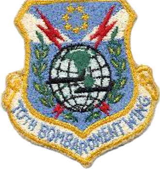 70th Intelligence, Surveillance and Reconnaissance Wing - 70th Bombardment Wing Patch
