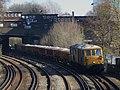 73201 Broadlands and 73207 Hoo Junction up yard to Battersea Pier Junction 6G23 (13033695474).jpg