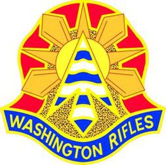 I Corps (United States) - Image: 81Armor Brigade DUI