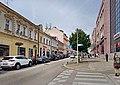9. května street, middle part, Tábor.jpg