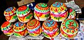 9 colourful gift pots for Makar Sankranti January festival.jpg