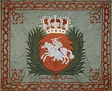 Royal banner of Augustus II (Source: Wikimedia)