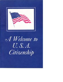 A Welcome to United States Citizenship
