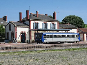 SNCF Class X 97150 - X 97150 railbus at Paimpol