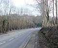 A4048 approaches The Rock - geograph.org.uk - 1731301.jpg