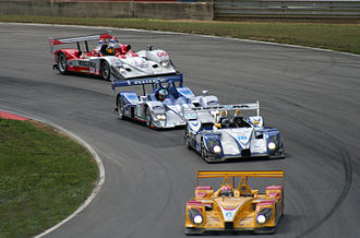 Le Mans Prototype - A group of Le Mans Prototypes competing in the American Le Mans Series, 2007