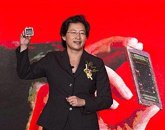 Lisa Su - AMD CEO Lisa Su in June 2015