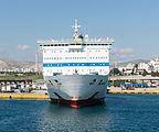 ANEK LINES EL.Venizelos front view, Piraeus, Greece.jpg