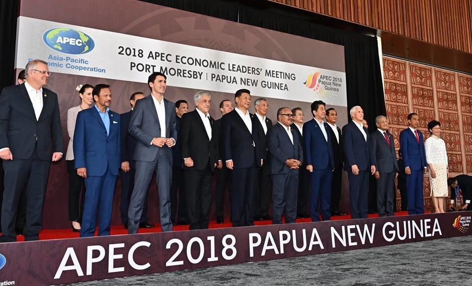 APEC Leaders Photo - Papua New Guinea 2018