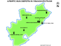 APSRTC Depot map of Visakhapatnam city.png