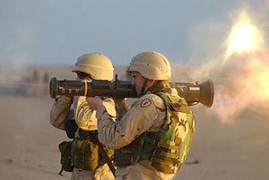 Saab Group - Saab AT4 portable anti-tank weapon