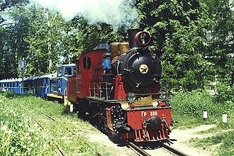 Children's railway - Image: AX Steam Loco Gr 336 Kiev Ch RW