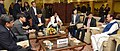 A South Korean delegation led by the Vice Minister for Land and Infrastructure, Korea, Dr. Kim Kyung-Hwan meeting the Union Minister for Urban Development, Housing & Urban Poverty Alleviation and Information & Broadcasting.jpg