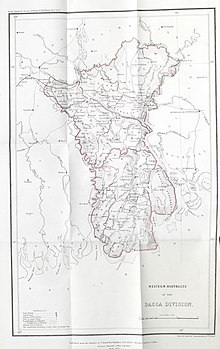 A Statistical Account of Bengal — Volume 5 Map.jpg