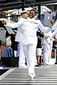 A U.S. Naval Academy graduate receives his diploma during the class of 2013 graduation and commissioning ceremony May 24, 2013, at the Navy-Marine Corps Memorial Stadium in Annapolis, Md 130524-N-GK053-094.jpg