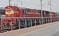 A WDM 3A locomotive MUed with another WDM 3A resting at Secunderabad.jpg