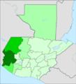 A mam nyelv elterjedése Guatemalában (2011).png