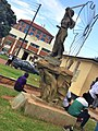 A monument elected in fron of the Makerere University students guild office.jpg
