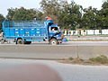 A truck on Gakkhar GT Road.jpg