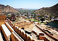 A view from Amber fort Jaipur India April 2014.jpg