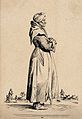 A woman in ragged clothing. Etching by Jean Duplessi-Bertaux Wellcome V0020416ER.jpg