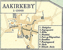 Aakirkeby rond 1900