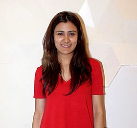 Aastha Gill snapped promoting their song (cropped).jpg