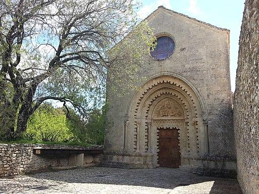Abbaye Notre-Dame de Ganagobie by Mikani