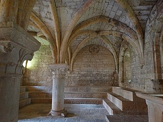 Le Thoronet Abbey - Vaulted ceiling