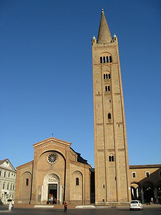 Romagna - The Abbazia di San Mercuriale, Forlì, built in 1180