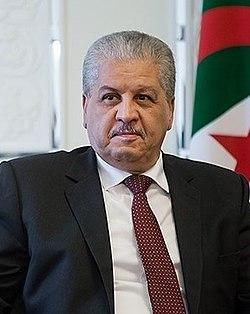 Abdelmalek Sellal in Saaadabad Palace.jpg