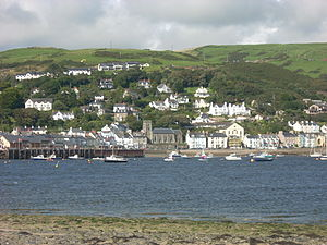 Aberdyfi - Aberdyfi from across the river.