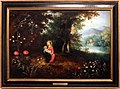 Abraham govaerts e ambrosius francken II, madonna col bambino in un paesaggio boscoso, fiandre 1615-20 ca.jpg