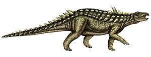 Acanthopholis - Hypothetical restoration