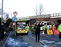 Accident involving a high lorry and a low bridge - geograph.org.uk - 658054.jpg