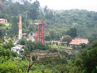 Cornish diaspora - A Cornish mine in Mineral del Monte, Hidalgo, Mexico