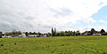 Across the village green from the north-east at Matching Green, Essex, England.jpg