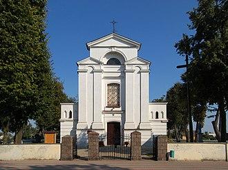 Adamów, Łuków County - Church in Adamów