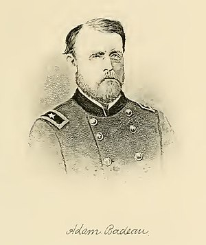 Adam Badeau - Illustration of Adam Badeau in later years
